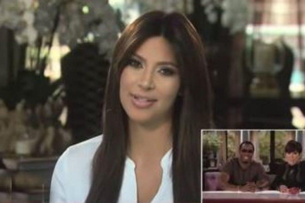 Kim Kardashian Foto:Youtube. Imagen Por: