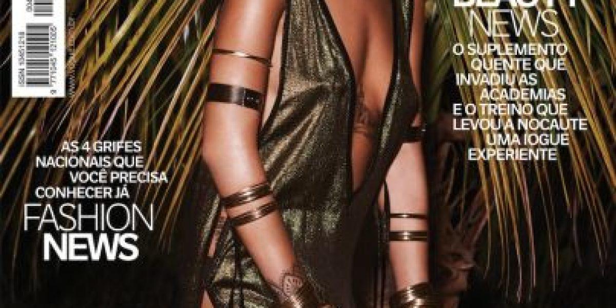 Miren las sensuales fotos de Rihanna en la edición de Brasil de Vogue