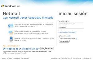 Hotmail Foto:Hotmail. Imagen Por: