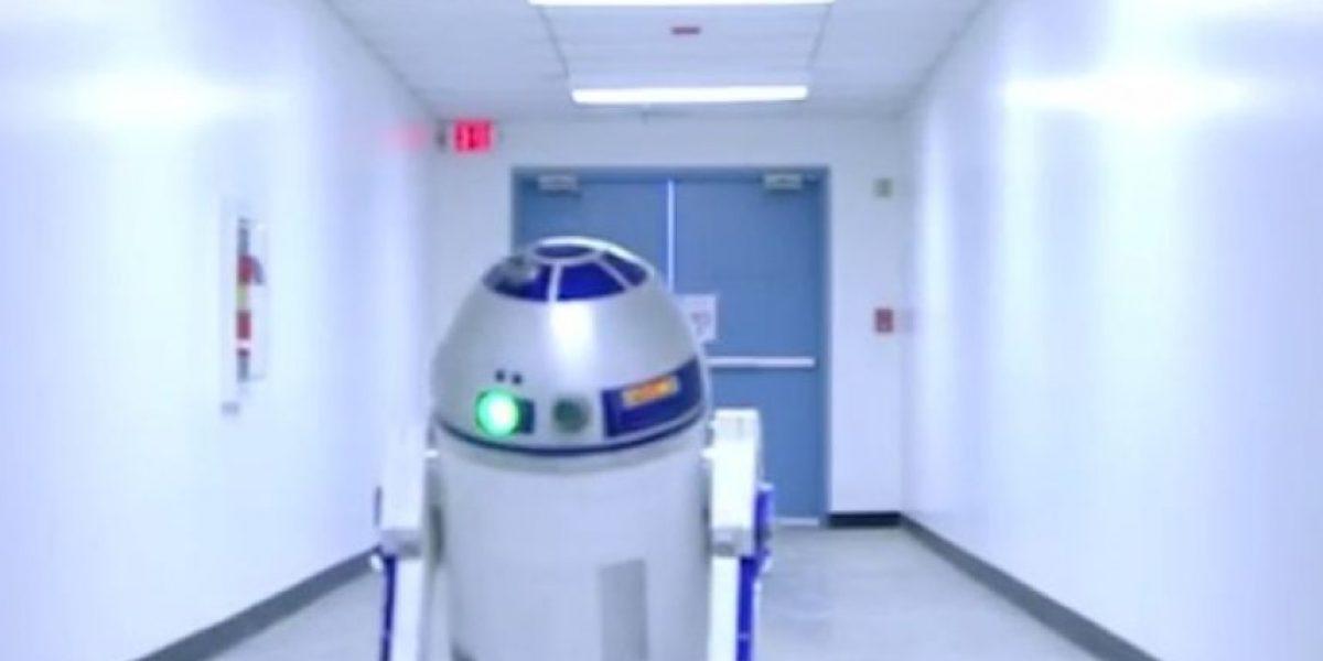Video: Star Wars manda a R2D2  de visita a la NASA