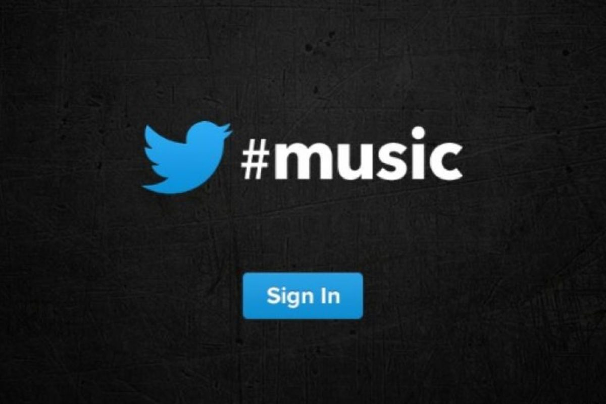 Twitter Music Foto:Twitter. Imagen Por:
