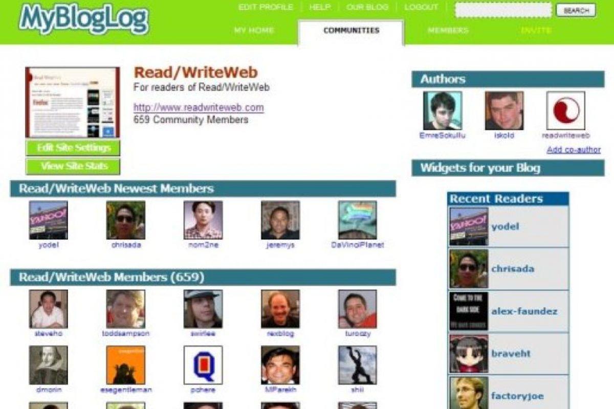 MyBlog Log Foto:Yahoo!. Imagen Por: