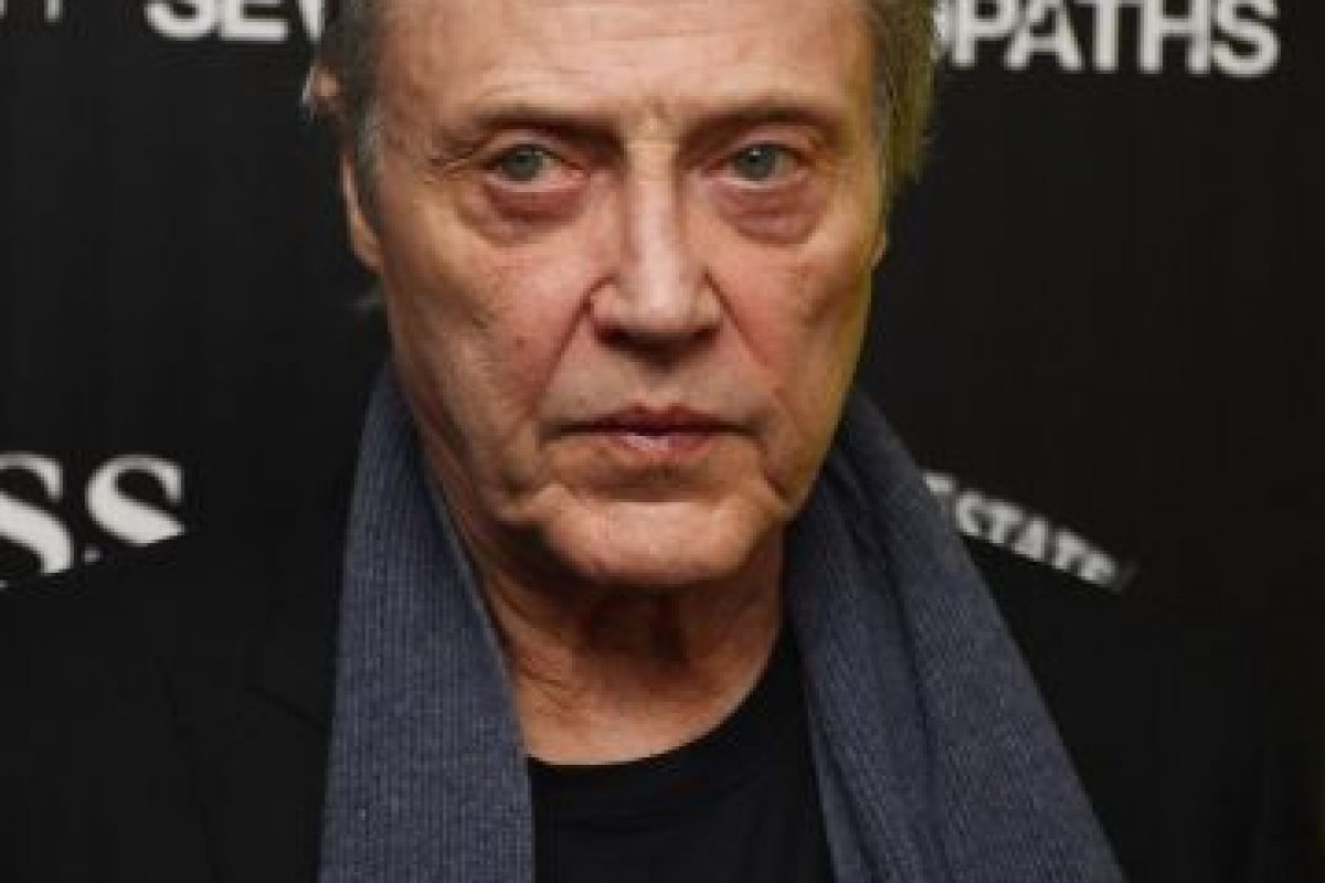 Christopher Walken Foto: Getty. Imagen Por: