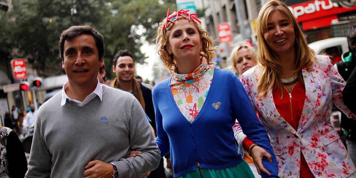 Agatha Ruiz de la Prada está de visita en Chile