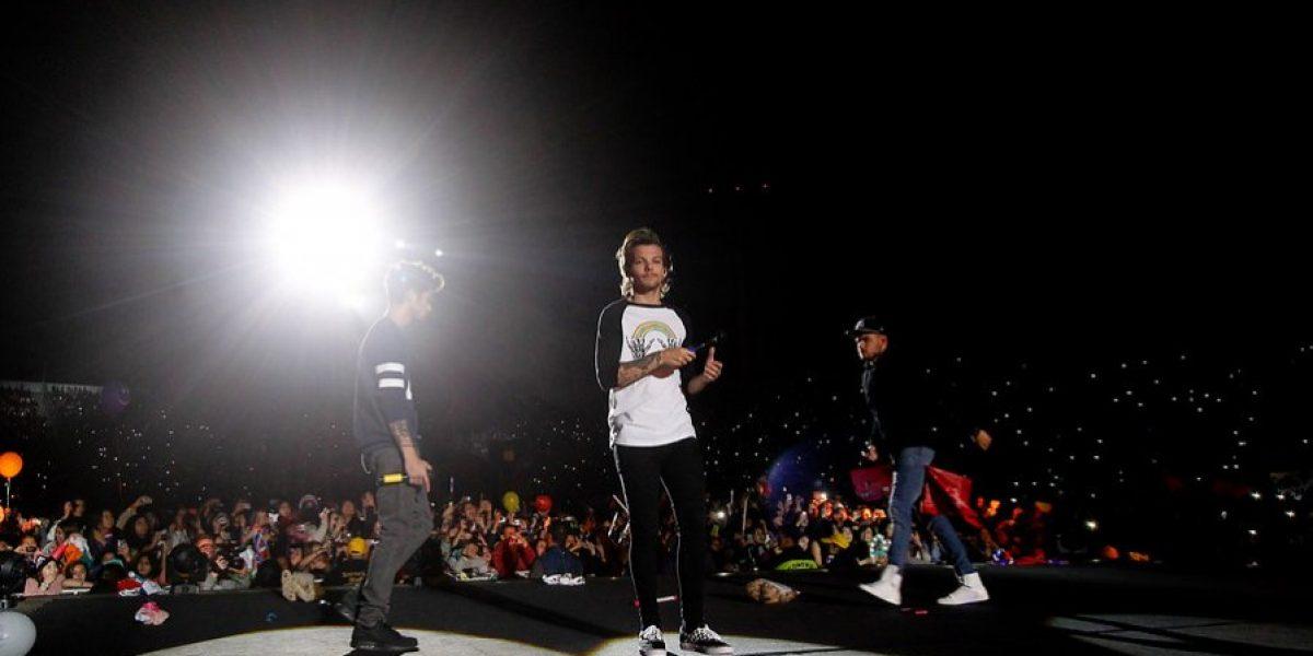 One Direction desata fervor de 50 mil