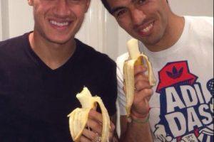 Philippe Coutinho y Luis Suárez, del Liverpool Foto:Twitter. Imagen Por: