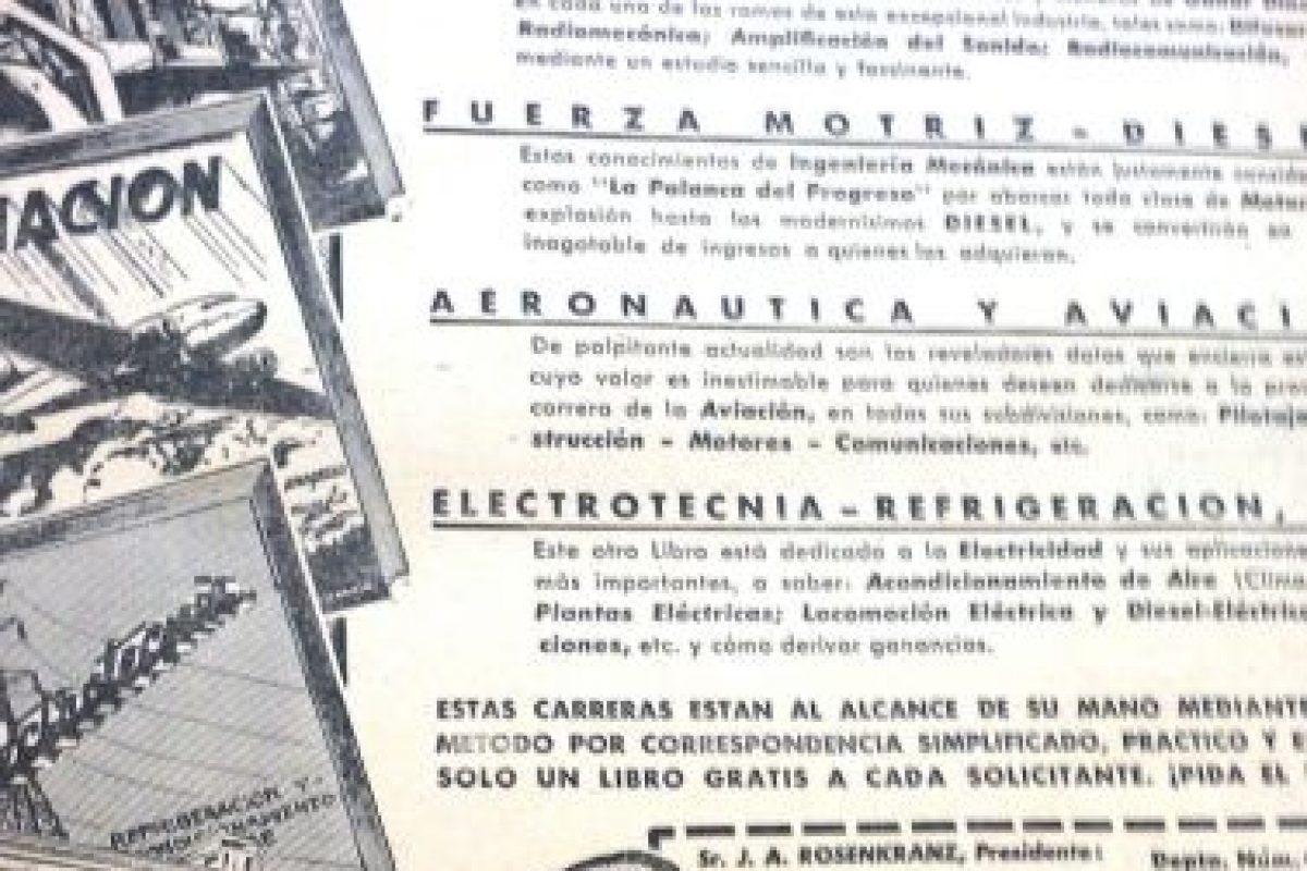 Inglés y radio eran las carreras del futuro.. Imagen Por:
