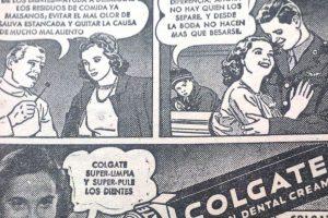 La publicidad de Colgate contaba la historia de una mujer que esperaba a su novio en la guerra.. Imagen Por:
