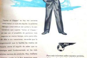 Pan Am era una de las aerolíneas que comenzaba su expansión en Latinoamérica.. Imagen Por:
