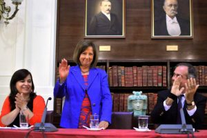 Ex Senadora DC y Ministra de Justicia y Relaciones Exteriores de Ricardo Lagos. Imagen Por:
