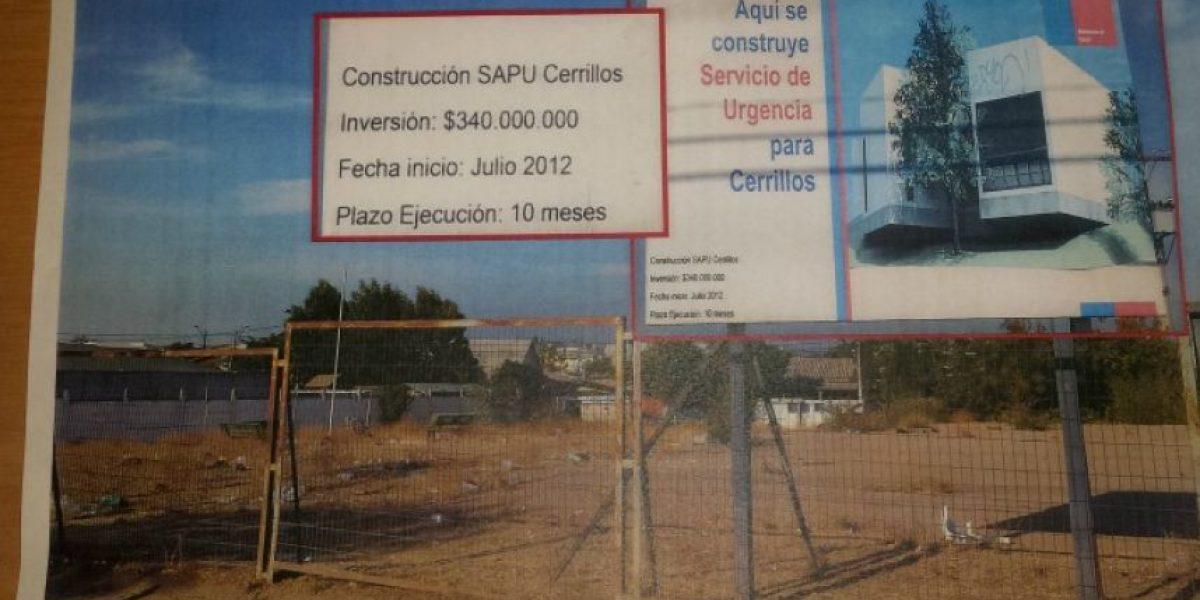 [Fotos]Alcalde acusa engaño del Gobierno anterior en construcción de centro de salud en Cerrillos
