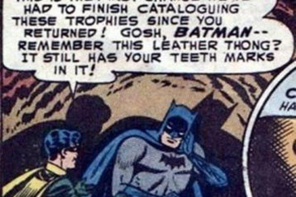 Fotos 10 Momentos Que Prueban Que Batman Y Robin Son Gays