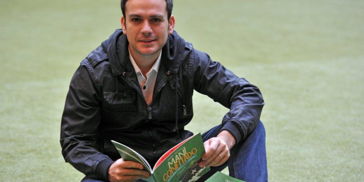 Ignacio Valenzuela publica libro de fútbol para niños