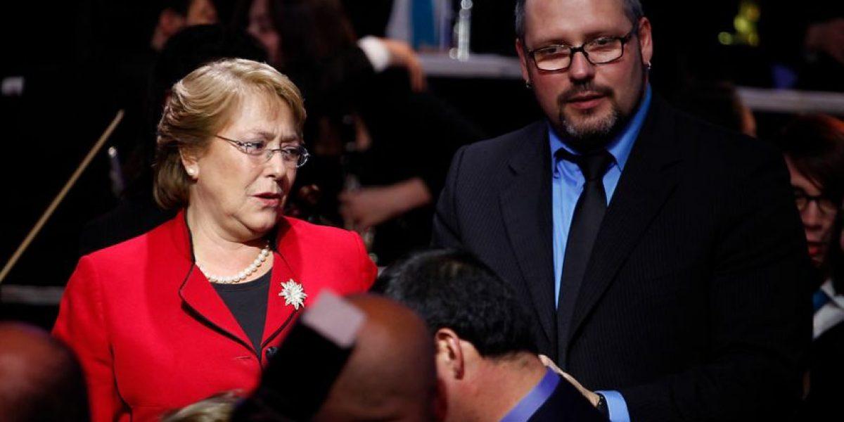 Bachelet asistió con su