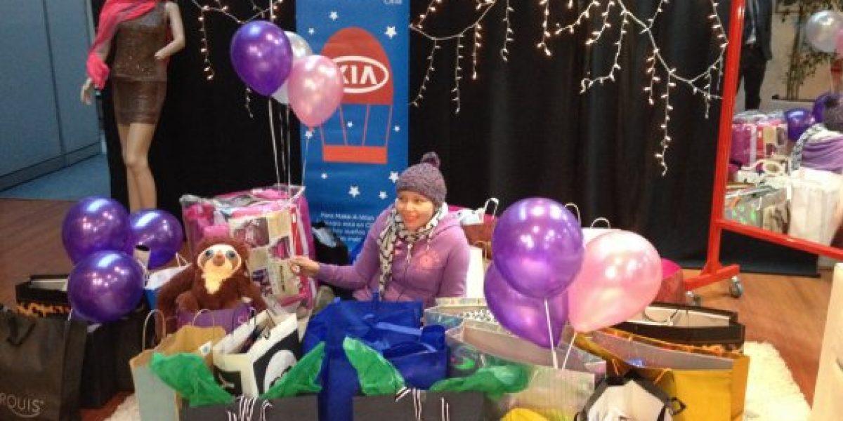 Kia Chile cumple el sueño de una joven con leucemia