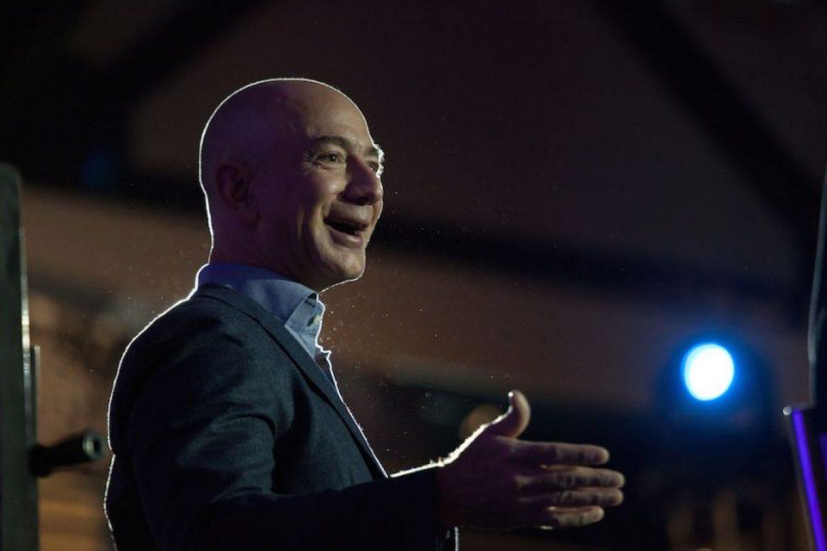 Jeff Bezos – CEO de Amazon Foto:getty images. Imagen Por: