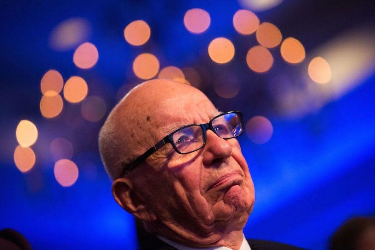 Rupert Murdoch – Presidente y CEO de News Corp Foto:getty images. Imagen Por:
