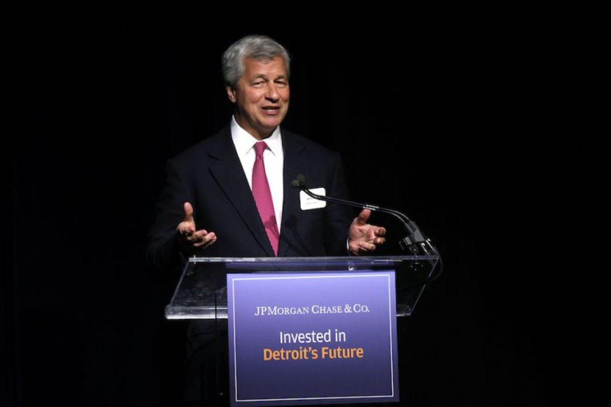 Jamie Dimon – Consejero delegado de JP Morgan Chase Foto:getty images. Imagen Por: