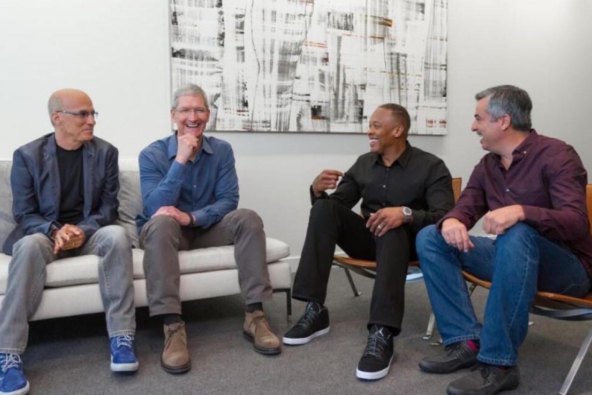 Las directivas de Apple y Beats Audio Foto:Twitter. Imagen Por: