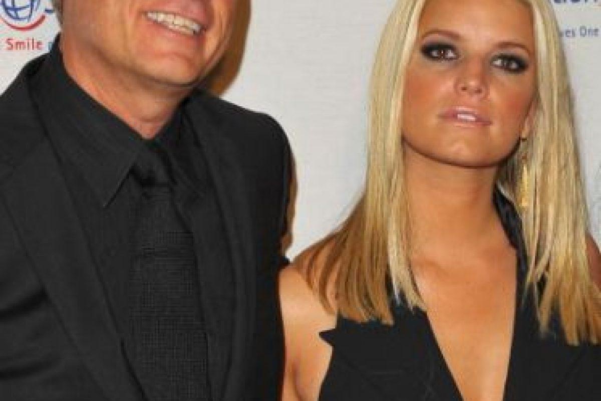 Jessica Simpson con su papá Joe Simpson Foto:Getty Images. Imagen Por: