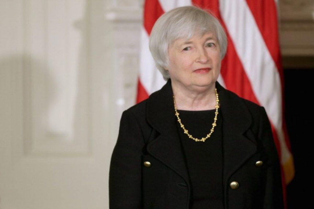 2. Janet Yellen. Presidenta de la Reserva Federal estadounidense Foto:Getty Images. Imagen Por: