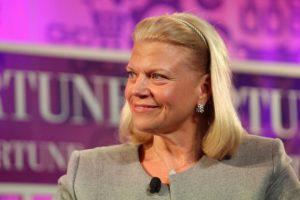 10. Virginia Rometty. Presidenta y directora ejecutiva en IBM Foto:Getty Images. Imagen Por: