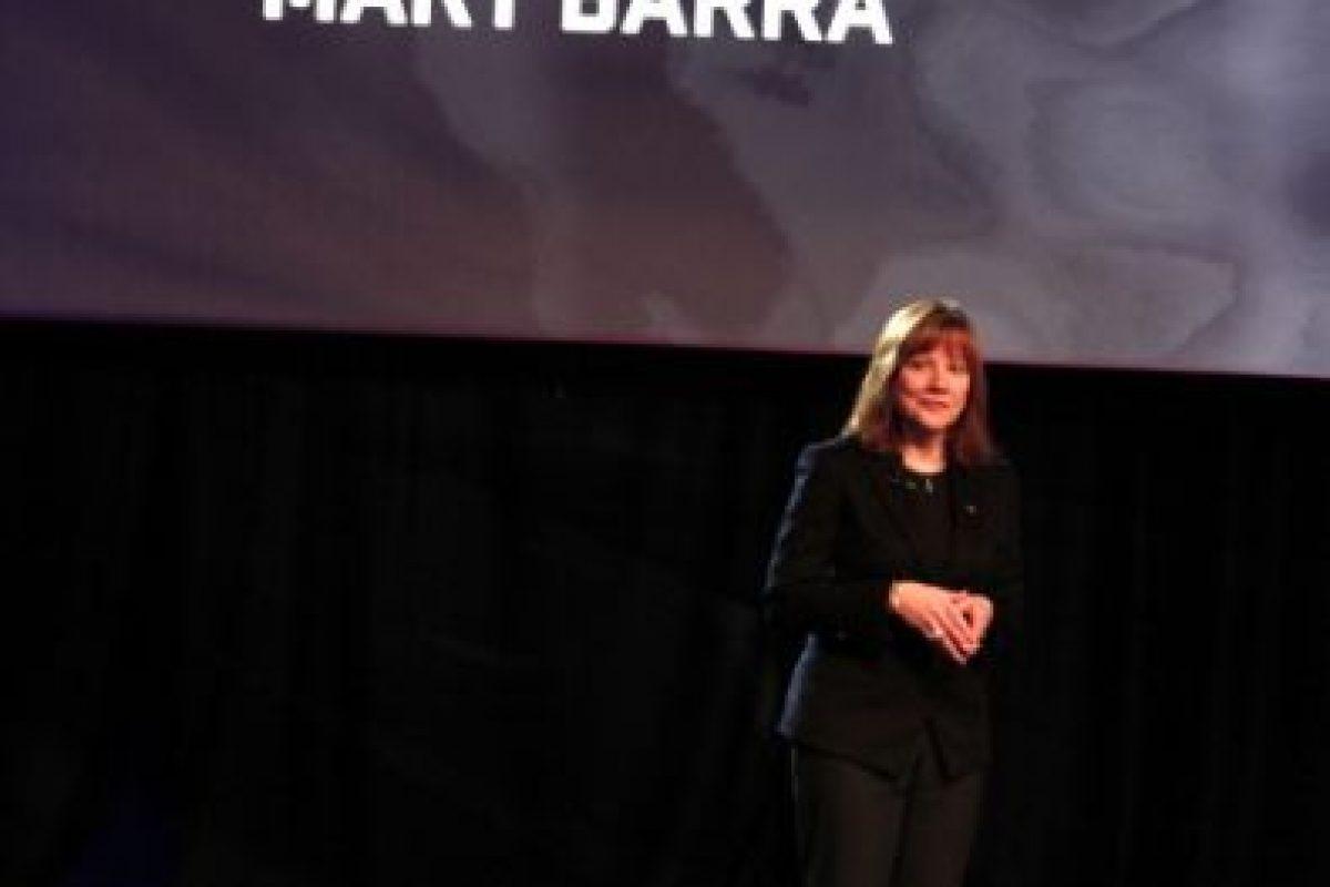 7. Mary Barra. CEO en General Motors Foto:Getty Images. Imagen Por: