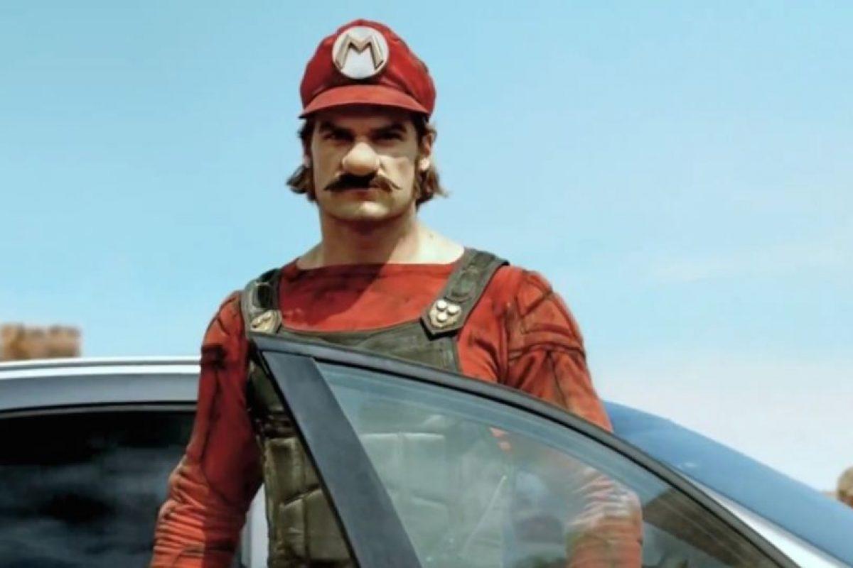 Así sería Mario Bros. en la vida real Foto:Mercedes Benz. Imagen Por: