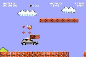 Mario si tuviera un automóvil Foto:Mercedes Benz. Imagen Por: