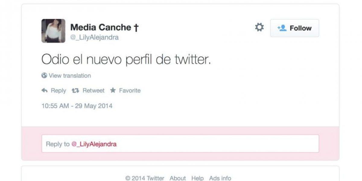 INFOGRAFÍA: El nuevo y criticado perfil de Twitter, a detalle