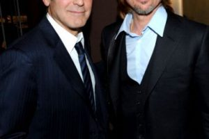 4. Brad Pitt y George Clooney Foto:Getty Images. Imagen Por: