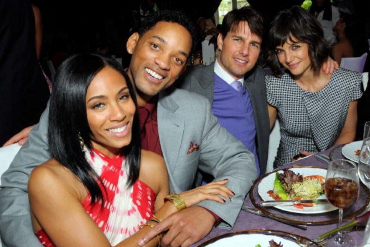 2. Tom Cruise y Jada Pinkett Foto:Getty Images. Imagen Por: