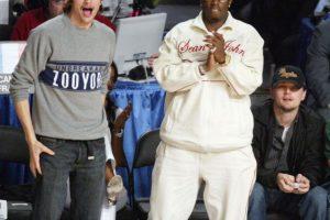 5. Ashton Kutcher y P. Diddy Foto:Getty Images. Imagen Por: