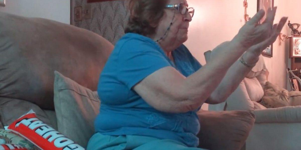VIDEO: Esta abuela es la fan número uno de Miami Heat