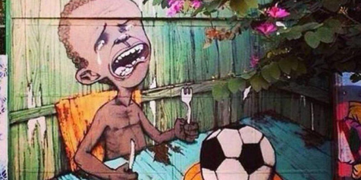 GALERÍA: 10 graffitis en contra del Mundial de Brasil 2014