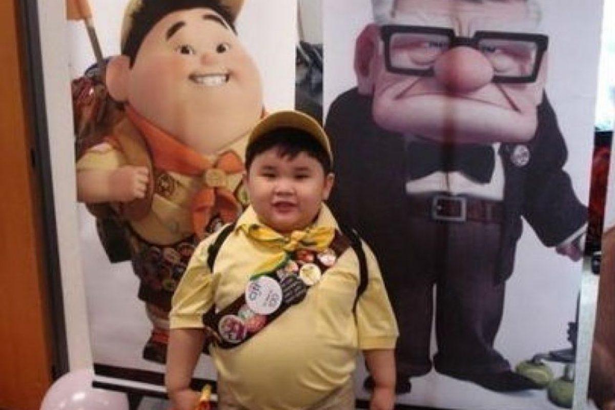 Russell de Up, una aventura de altura Foto:Facebook. Imagen Por: