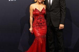 La hermosa cantante colombiana, de 37 años, está casada con Gerard Piqué, de 27 años. Foto:Getty. Imagen Por:
