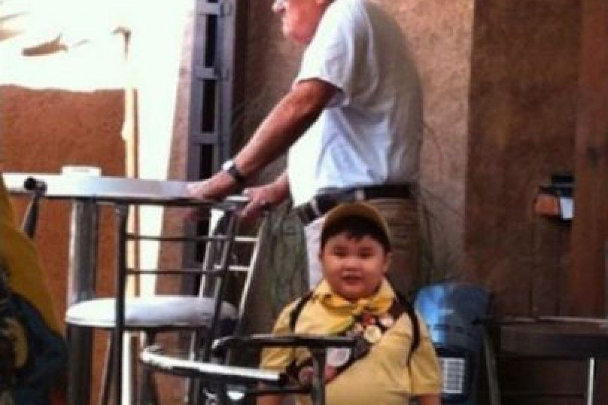 Mr Fredicksen y Russell de Up, una aventura de altura Foto:Facebook. Imagen Por:
