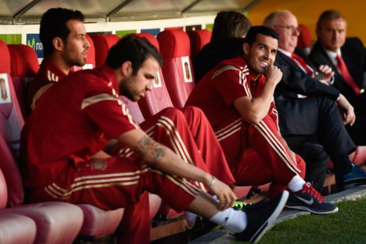 Como cada cuatro años, la Federación Española de Fútbol mantiene concentrados a sus jugadores en un complejo, en el que no perite entrar a sus parejas, a menos que sea una celebración. Foto:Getty Images. Imagen Por: