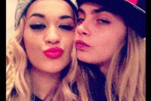 Rita Ora y Cara Delevigne Foto:Instagram. Imagen Por: