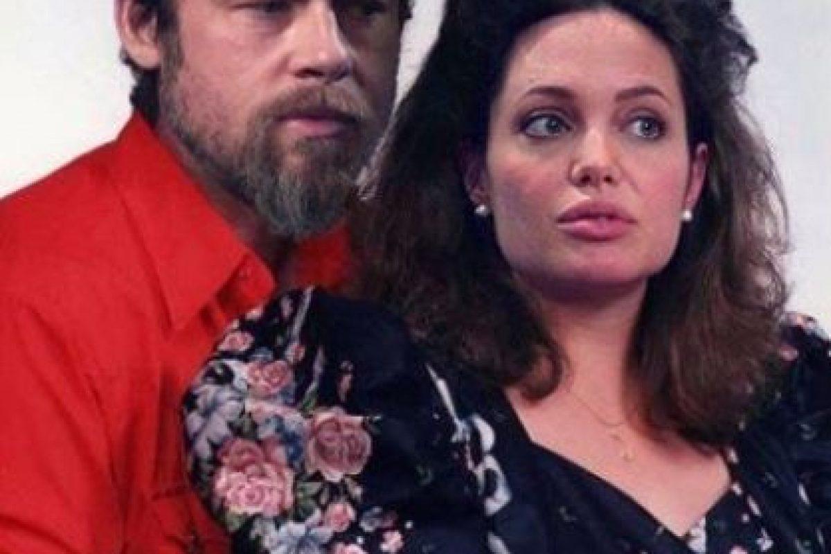 Brad Pitt y Angelina Jolie Foto:Facebook/Planet Hiltron. Imagen Por: