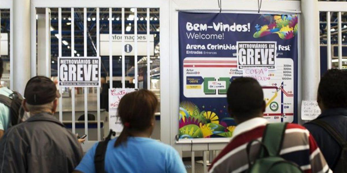 [Fotos] Fracasa negociación de la huelga en Metro de Sao Paulo a 3 días del Mundial