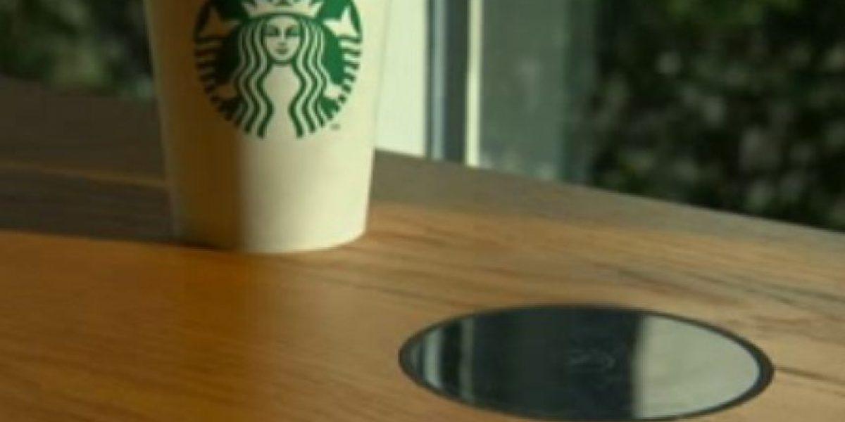 Starbucks ofrecerá cargadores inalámbricos para los gadgets
