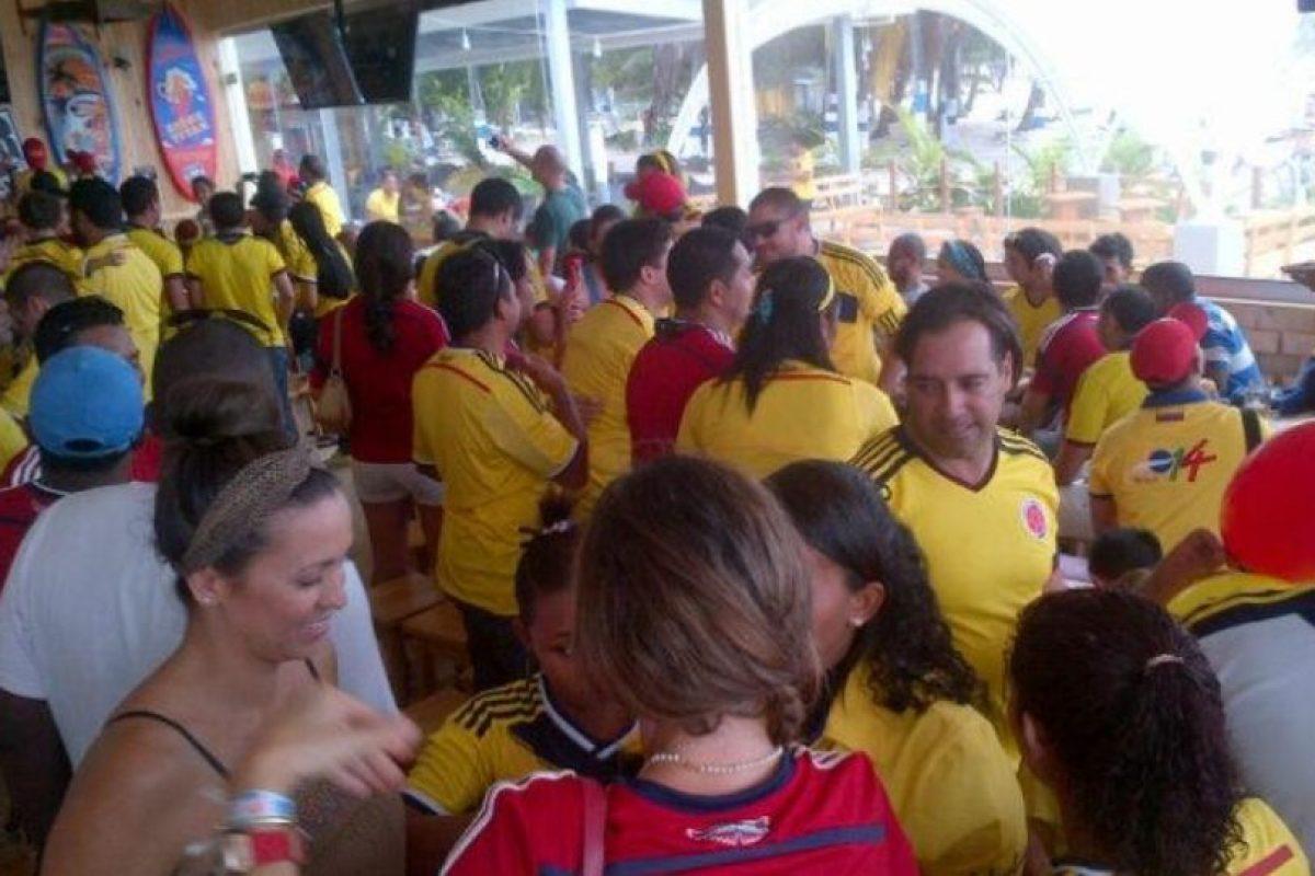 Colombianos en San Andrés Foto:Twitter. Imagen Por:
