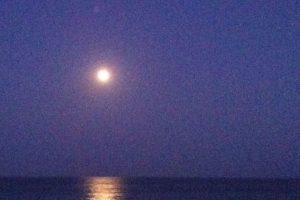 Mangata (sueco) El camino que se dibuja en el mar por el reflejo de la luna Foto:Wikipedia. Imagen Por: