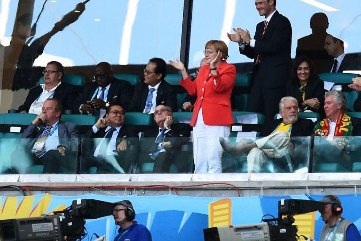 Aplaudiendo las anotaciones alemanas. Foto:Getty Images. Imagen Por: