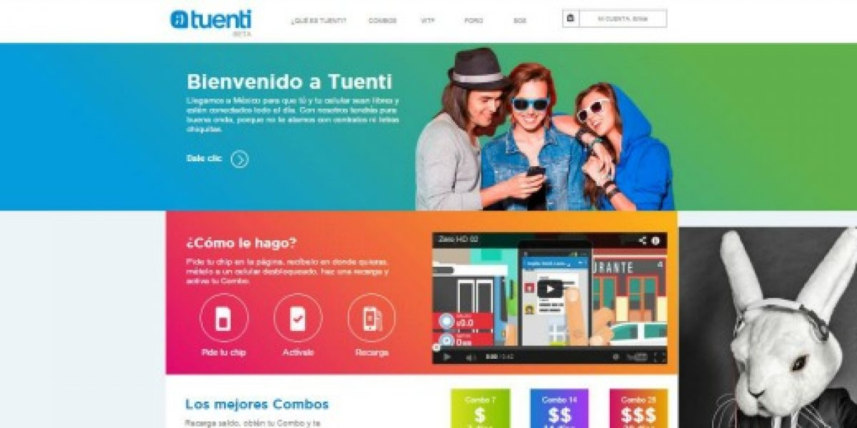 Operador móvil Tuenti llega a Latinoamérica