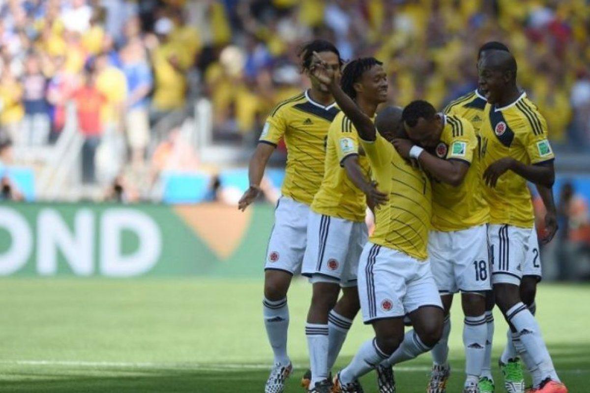 Colombia le ganó 3-0 a Grecia Foto:Getty. Imagen Por: