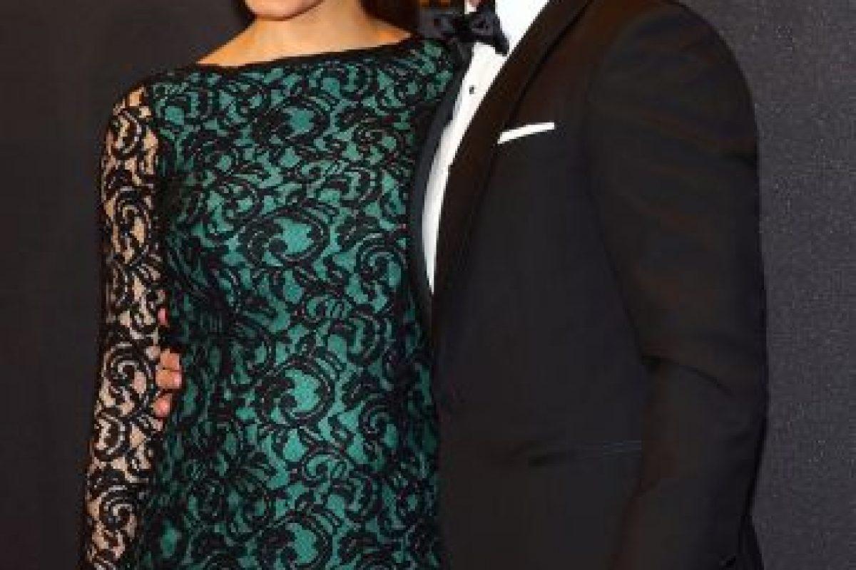 Pilar Rubio, pareja de Sergio Ramos. La periodista experta en economía confirmó su relación con el futbolista en 2012. Foto:Getty. Imagen Por: