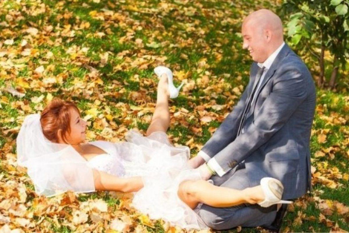 La foto del matrimonio más elegante de la Historia. En serio. Foto:PryfLiveJournal. Imagen Por: